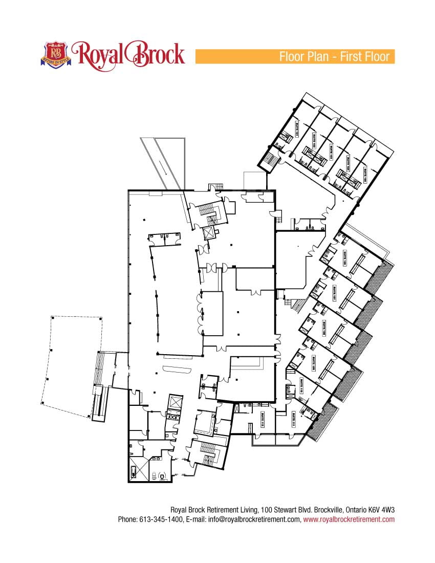 Royal Brock First Floor Plan